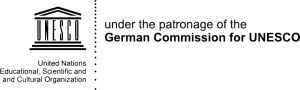 Logo unter Schirmherrschaft der DUK eng trans